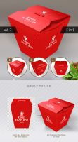 Food Box Vol.2 Mock-up Template by Itembridge