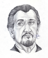 Roger Delgado as the Master by Giu-sama