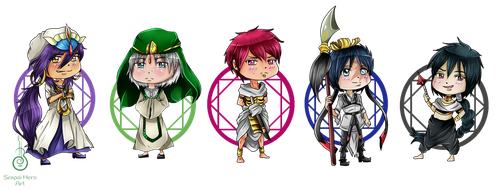 Chibi Magi [Batch 2] by Senpai-Hero