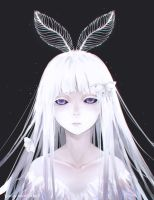 White Moth by eveereal