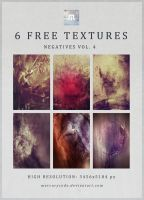 6 Free Textures: Negatives Vol. 4 by mercurycode