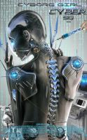 Making of Photoshop Tutorial Cyborg Advanced level by 35-Elissandro