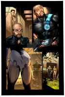 Turbulence Issue-1 Pg-3 Color by NewPlanComics