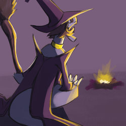 Daily Doodle: Golin Witch by CountDraggula
