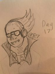 DAY 17 (present mike) by CreativeRose7