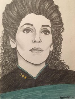 Counselor Troi by KatherineFan324