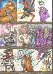 Batman: The Legend Sketchcards 5 by wheels9696