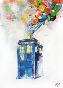 Tardis by Lucky-Accident