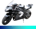 Precut Ninja Motorcycle by CelticStrm-Stock by CelticStrm-Stock