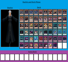 Duelist and Deck - Xemnas by MarioFanProductions