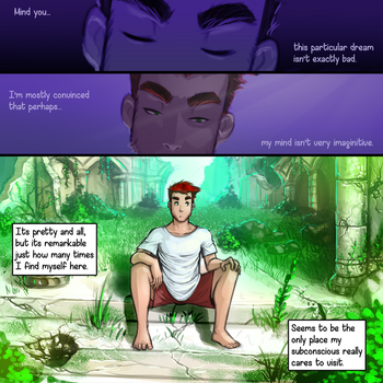 Page 2: The ruins by GravityArchangel