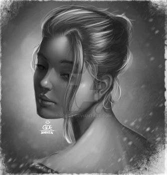 Face Proportion and Lighting Pratice by GDecy