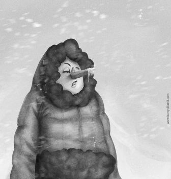 10 Frozen Nose by Harelf-L