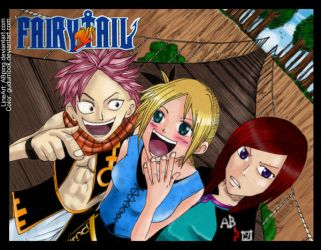 Collab wth ABping Fairy Tail2 by gudumbok