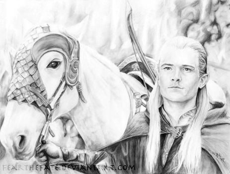 Legolas - The Handsome Archer by FearTheFate