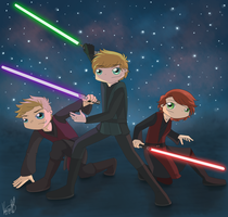 Contest - Tales of the Jedi Knights by ArcherVale