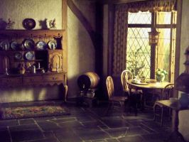 Interior of an Old House ii by NKG--stockpile