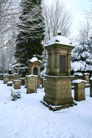 Winter cemetery stock 06 by Malleni-Stock