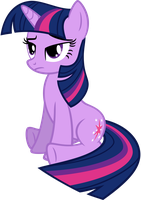 Twilight Is Not Amused by MoongazePonies
