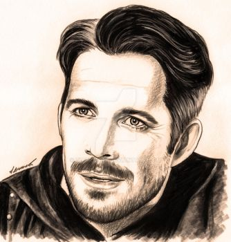 Robin Hood drawing by Francesca Benevento by ZiaFranny