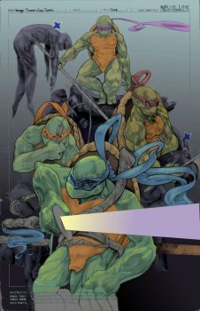 Tmnt Colored by kinetisus