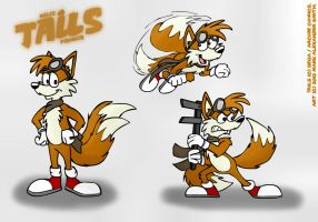 Tails Of The Future by FreyFox