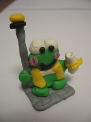 Keroppi the Cleric by brianl03