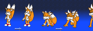 [OLD ART] Tails' second accident by Sabre471