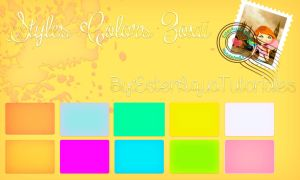 Styles Colors Zoxii by BellakysBlueTeam