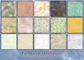 Marble B Patterns by silver-