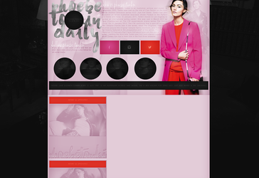 Free design with Phoebe Tonkin by terushdesigns