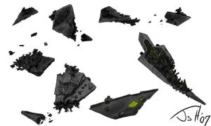 Star Destroyer prop sheet by MagusTheLofty