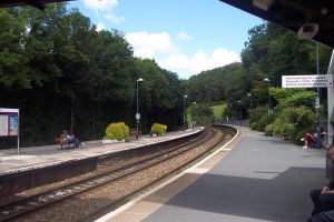 Bodmin Parkway Train Station by CooroSnowFox