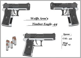 Wolfs Arm's Timber Eagle.44 by GriffinDogR34
