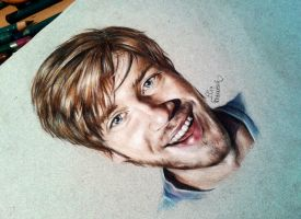 Pewdiepie drawing! (Derwent artist) by ElixFranceschini