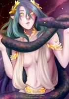 [Speedpaint] Ophiuchus, the 13th zodiac by Iydimm