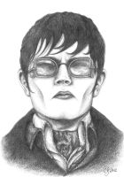 Dark Shadows - Barnabas Collins - Johnny Depp by SarembaArt