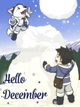 My-OC-character - Hello December by doraemonbasil
