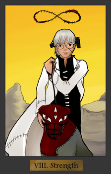 Soul Eater Tarot Project: Strength by WallofIllusion