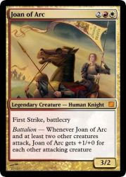 Joan of Arc by Khorakos