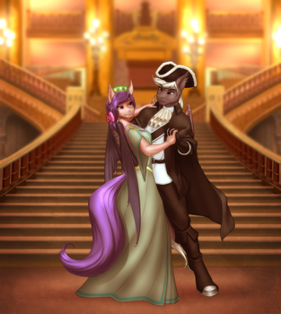 Commission: The Final Waltz by MykeGreywolf