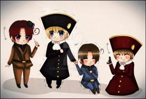 APH: 1pItaly,1Hre, 2pItaly, and 2pHre by Blissyanya