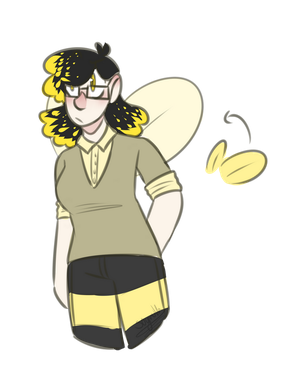 Bee Woman DT by s0ymvlk
