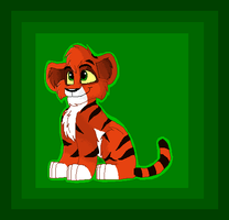Little Tiger Cub by Charlie-Breen