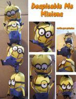 Despicable Me in 3D - Minions by melpk