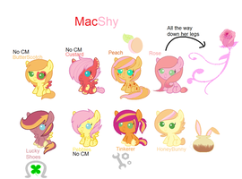 MacShy OTA Adopts by ThePotato-Queen