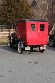 1931 Ford Model A Delivery (rear) by jswis