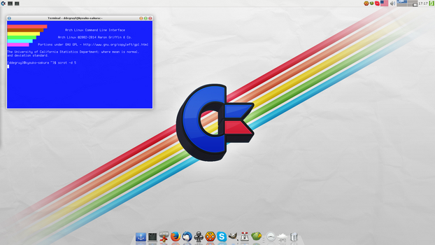 Arch Linux Screenshot - 14 Feb 2014 by TheKid965