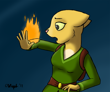 Playing With Fire by AdeptOmega
