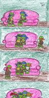 Sleeping turtles by XxGreenNinjaChickxX